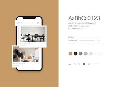 Website for architecture studio responsive website responsive styleguide studio architecture ui clean minimal