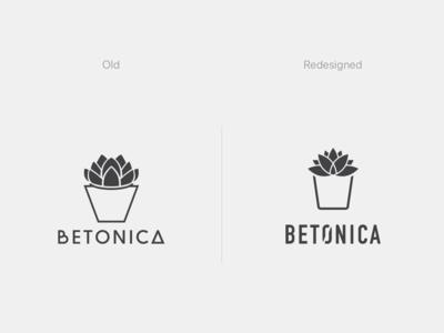 Betonica Logo Redesign