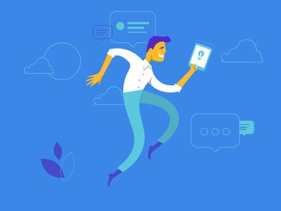 Illustration for Siemens's blogging platform