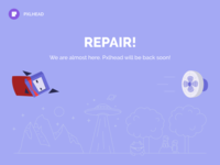 We are on repair