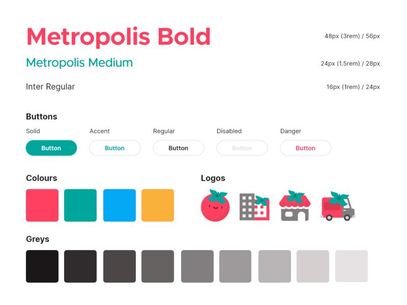 Pona Design System colorsandfonts typography icons logos palette colors palette colors colours buttons uiux ux ui design patterns style guide patterns design system