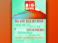 BBBSSN Big Give fundraiser kick-off party flyer