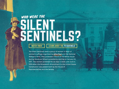 Who Were the Silent Sentinels
