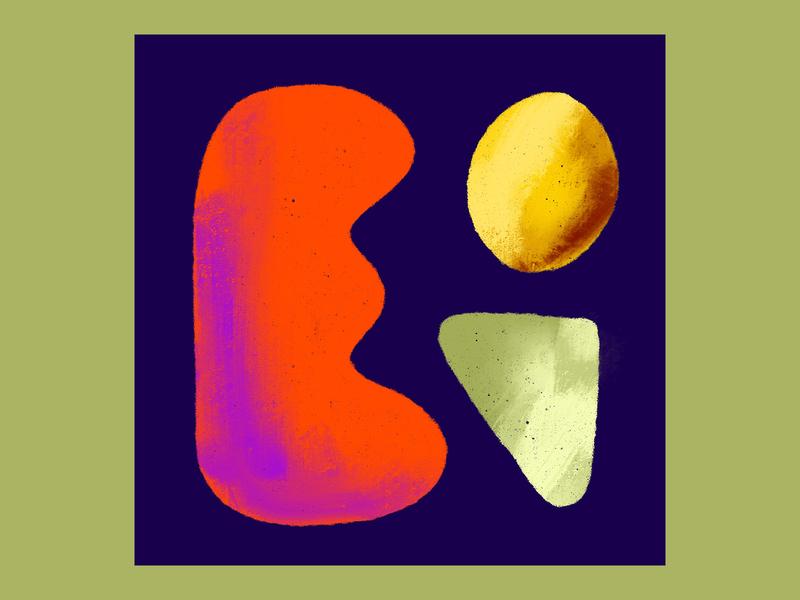 Greens, Eggs, & Ham procreate digitalart art abstract art artist textured abstract texture illustration design