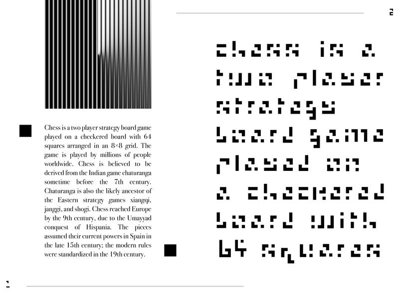 ROOK /// A CHESS-BASED FONT icon vector branding design custom lettering font family font design customtype rook chess typographic typography typeface type type art custom font font