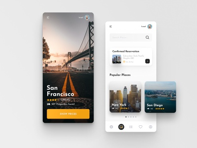 Travel App Design figma design app booking booking app figma typography travel product mobile illustration icon design application