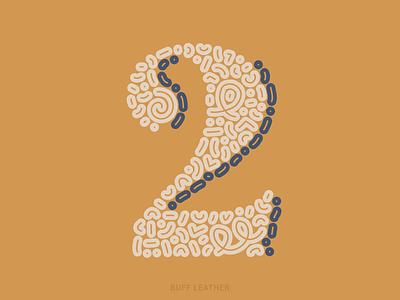 2 color palette color combination serif letter digital illustration 36daysoftype2021 36daysoftype vector illustration khaki leather color material