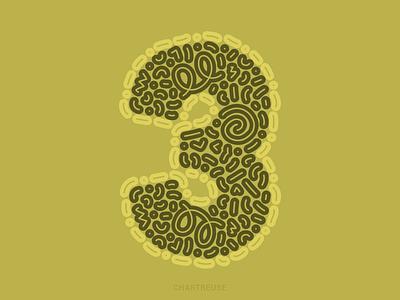 3 serif design letter digital illustration 36daysoftype2021 36daysoftype vector illustration sans serif green licor