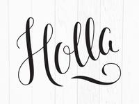 Holla!