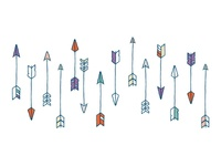 Arrow Greeting Card Pattern