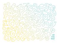 Swirl Pattern Greeting Card