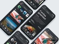 Contrastes. iOS App. Desafios.