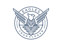 Eagle Logo Design Vector Template
