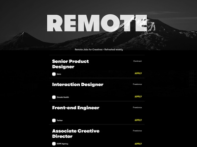 Remote Job Board