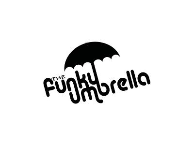 The Funky Umbrella identity logo-mark logo branding brand identity