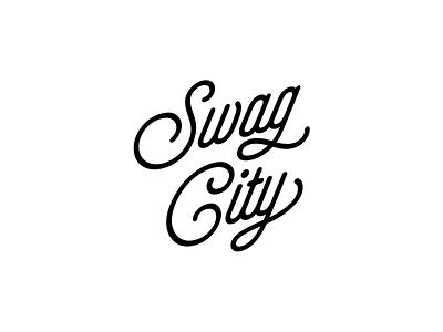 Swag City identity logo-mark logo branding brand identity