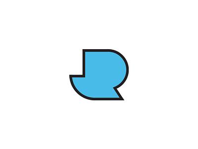 J.R. identity logo-mark logo branding brand identity
