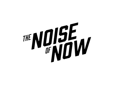 The Noise Of Now identity logo-mark logo branding brand identity