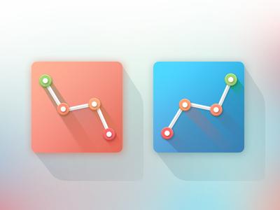 Diagramm flatty icon