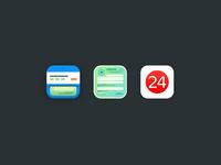 Terminal 24 app icons