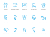 Dental icon kit