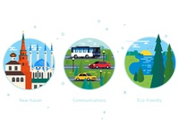 Land sale illustrations