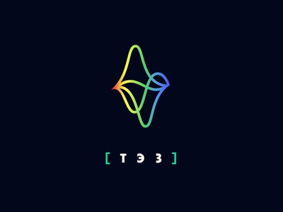 Theater of Experimental Sound music sound wave wave sound design clean branding typography logo simple 2d