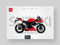 Bike Website Design