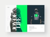 Dream's Website Design