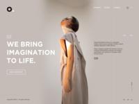 O. Digital Agency Landing Page Design