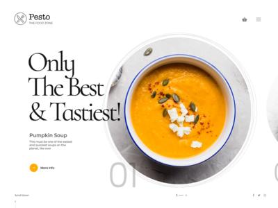 Pesto: Restaurant Website Design