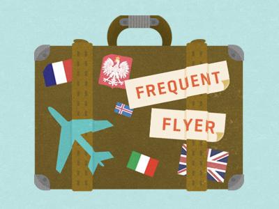 Luggage badge illustration luggage glindon