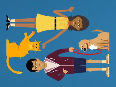 Community Characters community characters gamehouse illustration people animals glindon