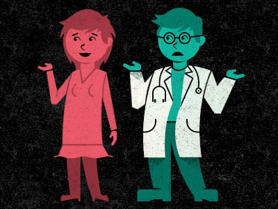 Doc infographic illustration doctor characters glindon
