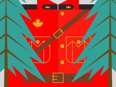 Canada infographic illustration canada glindon