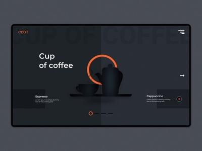Café Landing Page | Coffee Shop Website
