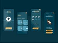 Barber Shop Mobile App | Hair Salon App Concept