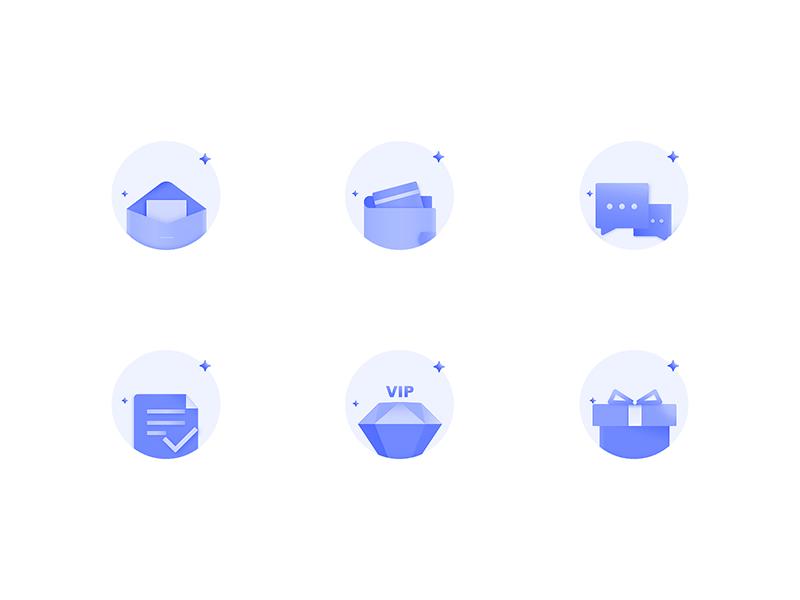 Icon gradient color ui icon