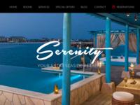 Resort WP Theme Layout