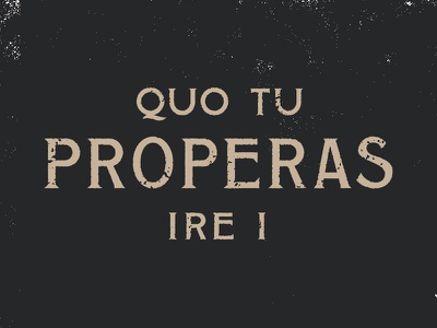 Atin-Lay rough latin folk wonky serif texture lettering