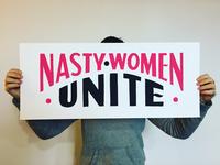 NASTY WOMEN UNITE