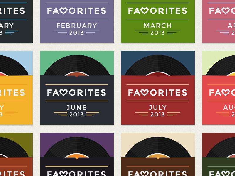 Rdio Playlist Art - 2013 Favorites record monthly rdio playlist montserrat cover art custom playlist art