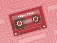 Rdio Playlist Art - 2014 Favorites