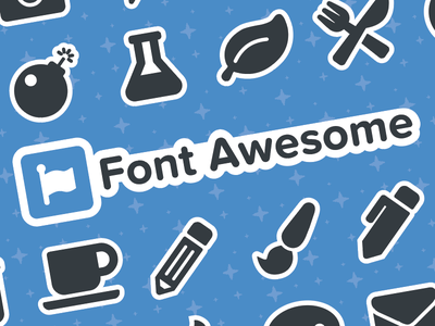 Font Awesome 5 Stickersheets! font awesome 5 font awesome stickers