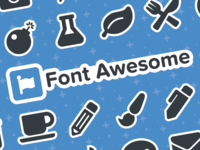 Font Awesome 5 Stickersheets!