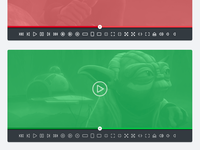 Font Awesome 5: Video Player Try Outs