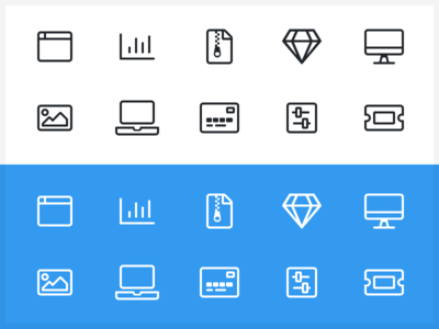 Misc Icons - Light Style font awesome symbols miscellaneous light icons awesome font