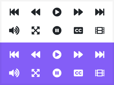 Video Player Icons video player font awesome symbols player video regular solid light icons awesome font