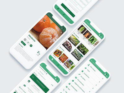 UX UI Mobile App Concept Fruits and Vegetables Seller app mobile seller vegetables fruits design ui ux