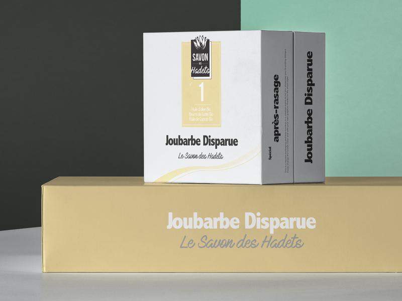 Packaging Soap Concept Savon des Hadets soapbox soap illustration design packaging mockup